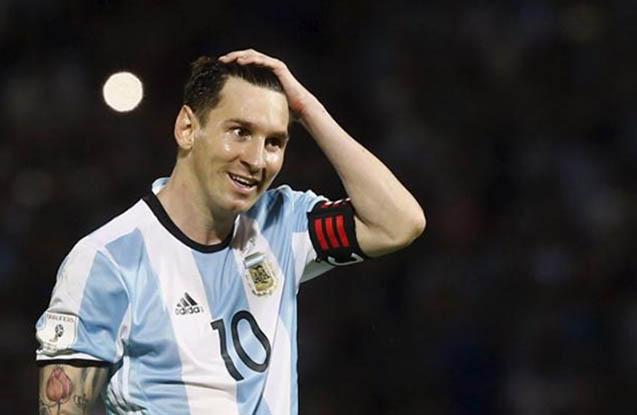 Messisiz Argentina məğlub oldu