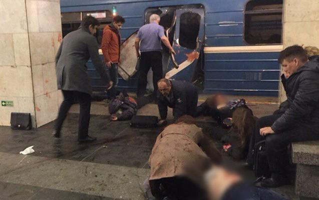 Rusiyada metroda partlayış, 10 ölü, 50 yaralı