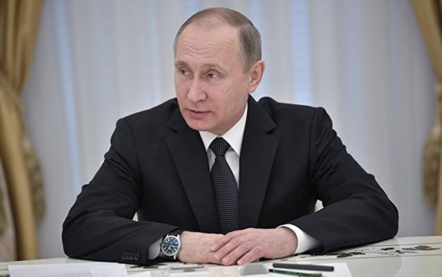 Putin o fərmanı imzaladı