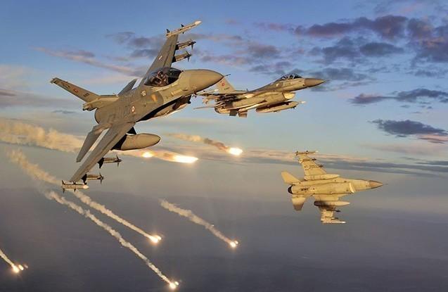 Türkiyə bu əraziləri bombaladı