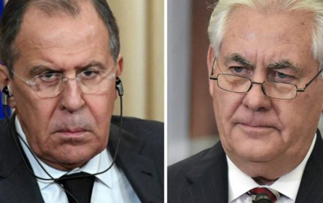 Lavrov və Tillerson arasında telefon danışığı olub