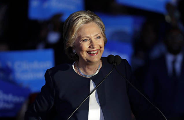Hillari Klinton hamamda yıxıldı