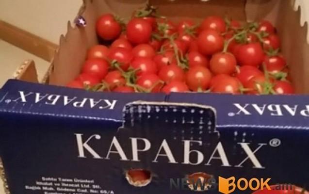 """Ermənistana """"Karabax"""" pomidoru idxal olunur"""