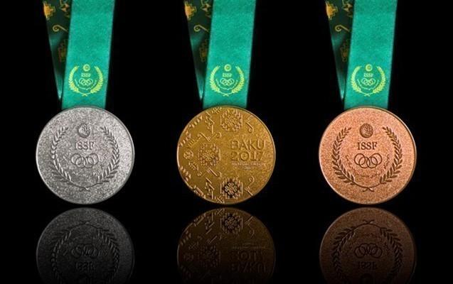 """Bu da """"Bakı-2017""""nin medalları"""