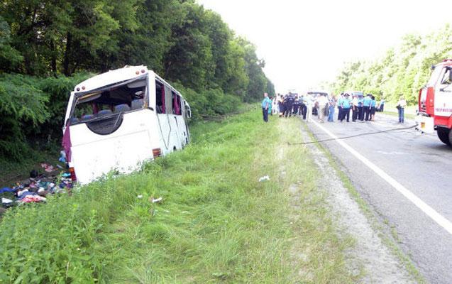Braziliyada avtobus qəzası