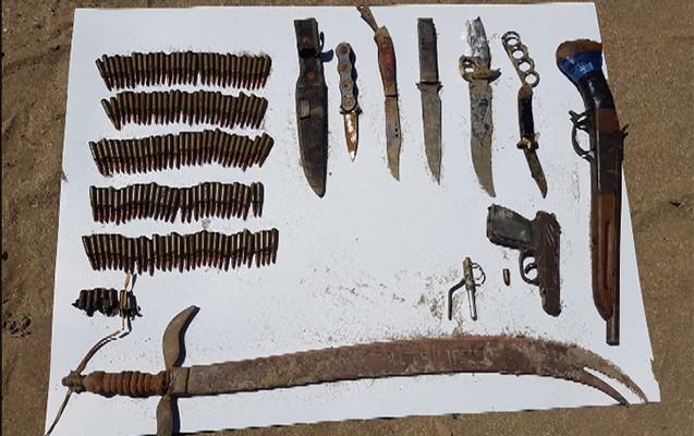 Nardarandan yenə də silah-sursat tapıldı