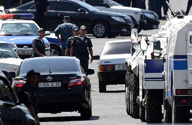 Rus hərbçini öldürən erməni saxlanılıb