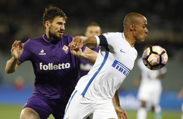"""Fiorentina"" ""İnter"" matçında"
