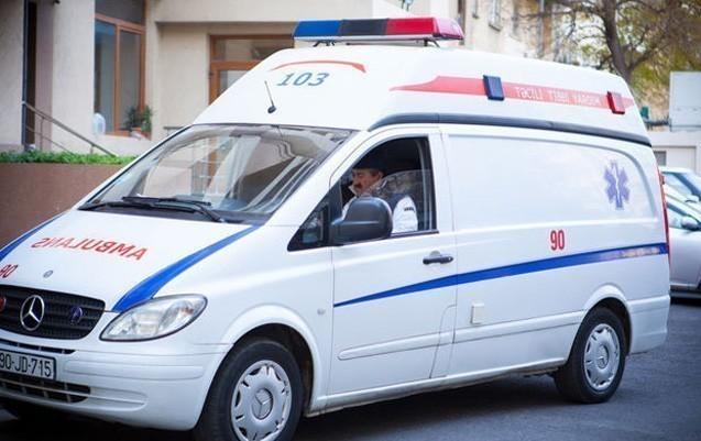 Oğuzda yol qəzasında ər-arvad yaralandı