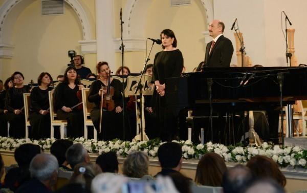 Rostropoviç festivalının açılışı oldu