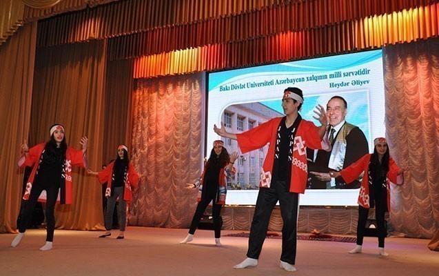 BDU-da Yaponiya Mədəniyyət festivalı keçirilib