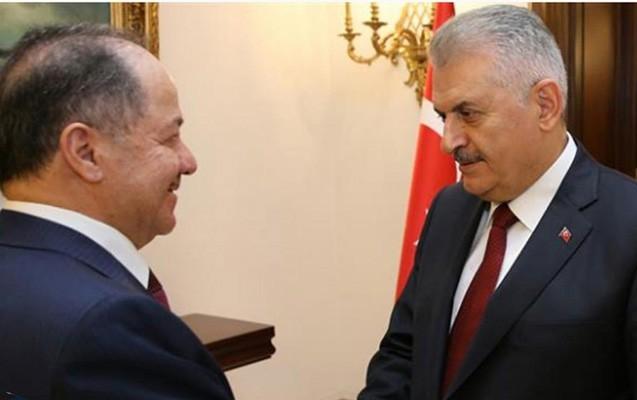 Türkiyə baş naziri Bərzaniyə başsağlığı verdi