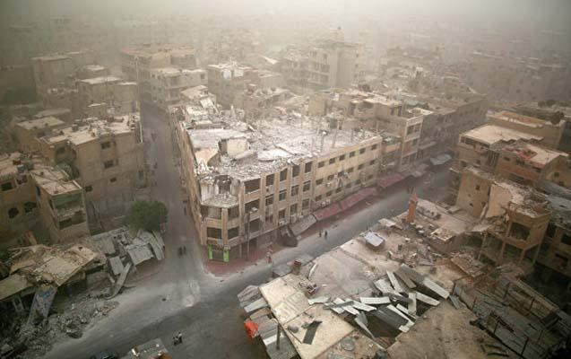 İsrail Dəməşqdə yanacaq anbarını bombaladı