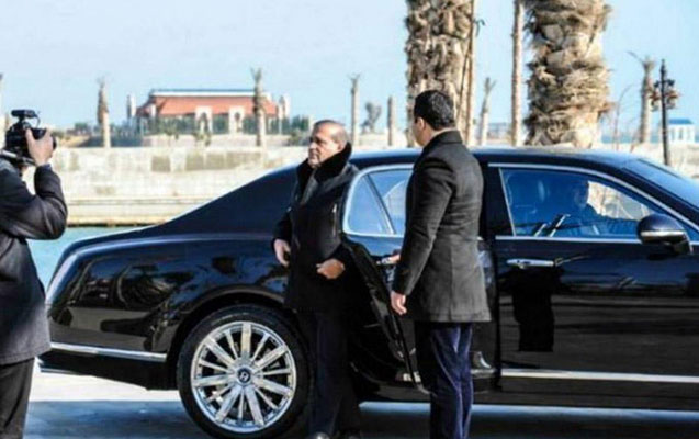 Bank İbrahim Nehrəmlinin milyonluq maşınını satışa çıxardı