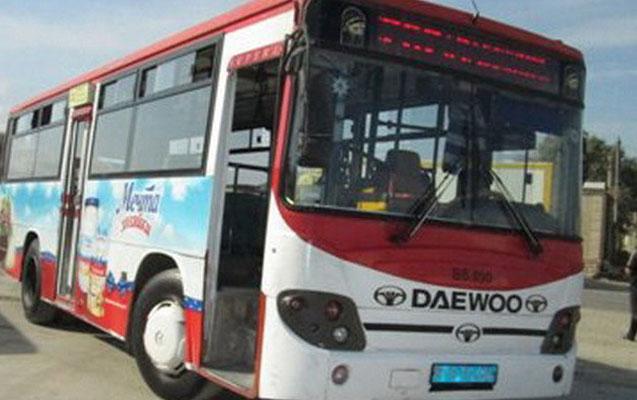 Abşeronda avtobus qəzası