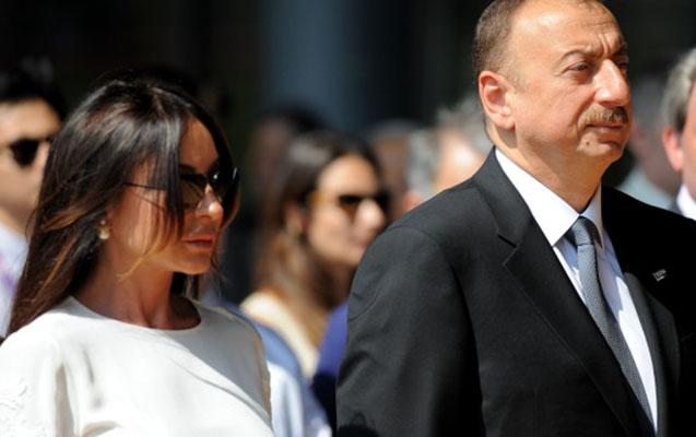 Əliyev və xanımı federasiya prezidenti ilə görüşüb