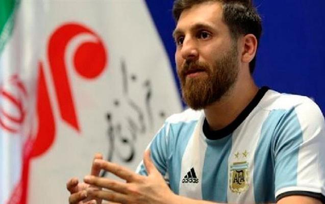 Messi iranlı oxşarını Barselonaya dəvət edib