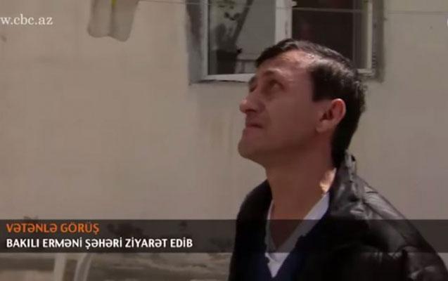 30 il sonra Bakıya gələn erməni qonşuları ilə görüşdü