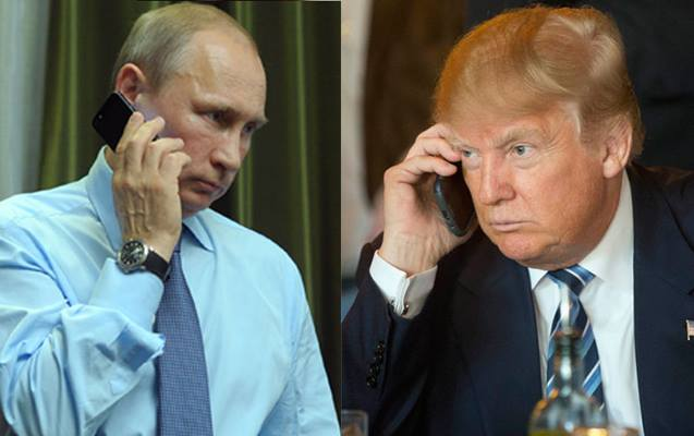 Trampla Putin arasında 3-cü telefon danışığı oldu