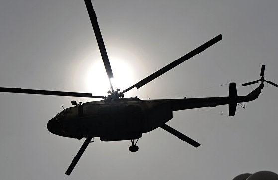 Qəzaya düşən helikopterin qalıqları tapılıb