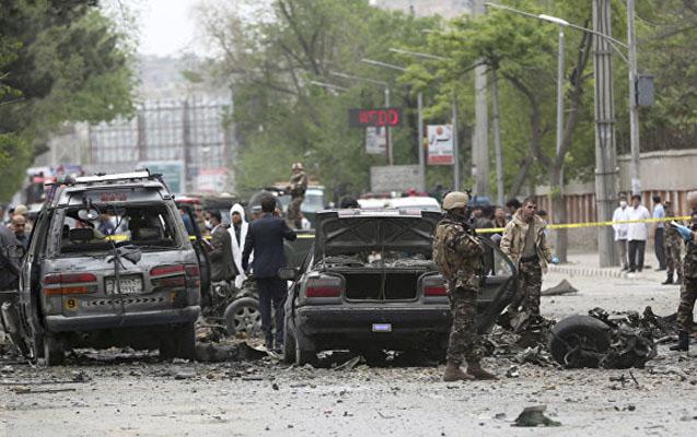 Kabulda NATO kortejinə bombalı hücum, ölənlər var