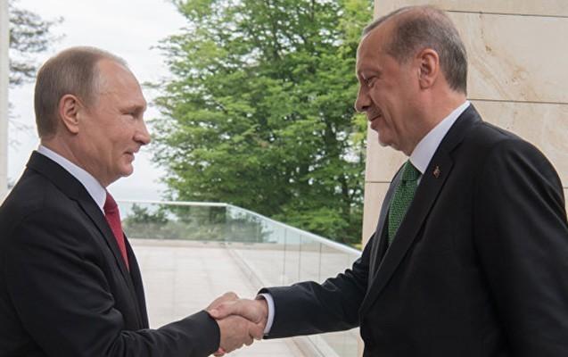 Ərdoğanla Putin görüşdü