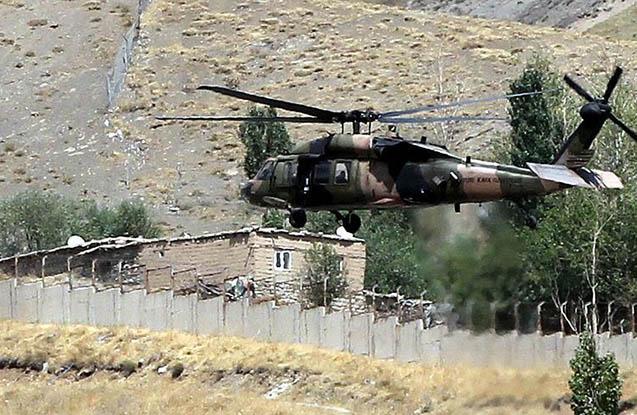 Türkiyədə helikopter qəzası, 1 polis ölüb
