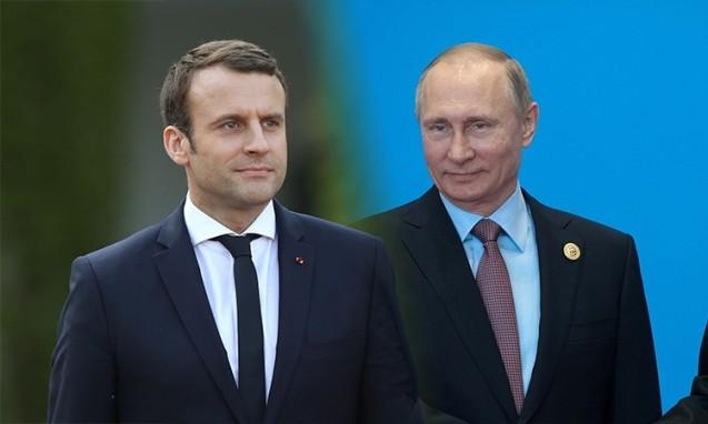 Makron Putinlə görüşəcək