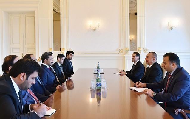 Prezident BƏƏ-nin nümayəndə heyətini qəbul edib