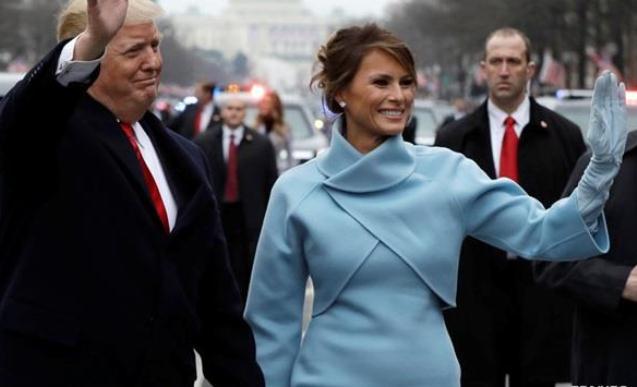 Amerika lideri xanımı ilə Brüsselə getdi