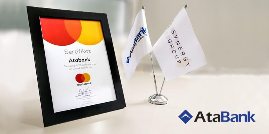 """""""AtaBank""""a """"MasterCard""""dan xüsusi mükafat"""