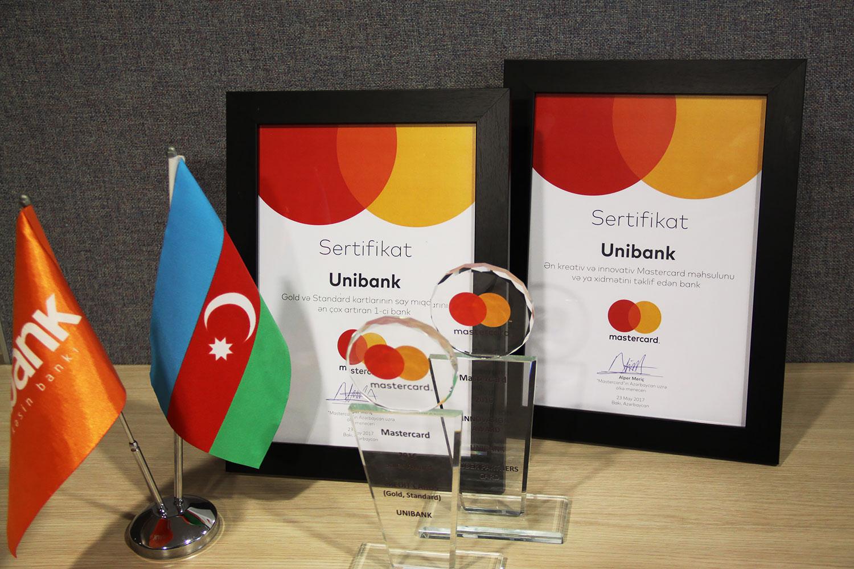 Unibank ilin ən innovativ bankı seçildi