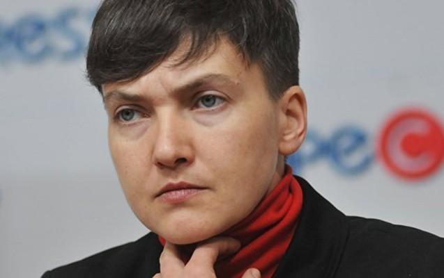 Ali Radanın deputatı Nadejda Savçenko saxlanıldı