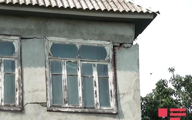 Masallıda 77 ev çökdü
