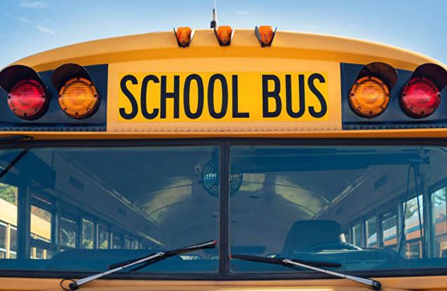 Şagirdləri daşıyan avtobus qəzaya düşüb
