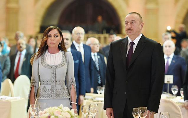 Prezident və vitse – prezident rəsmi qəbulda