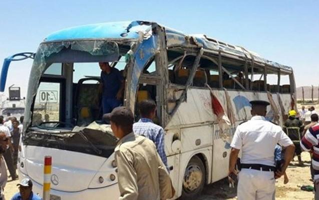 Misirdə xristianların olduğu avtobusa atəş açıldı, 35 ölü