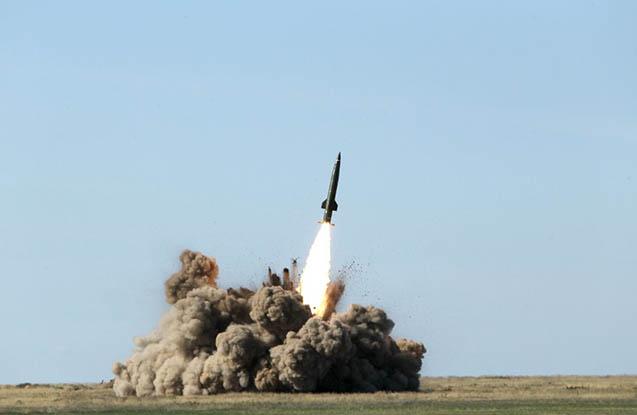 Ukrayna yeni tipli raketi sınaqdan keçirdi