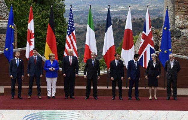 G7 ölkələrinin liderləri bəyannamə imzaladı