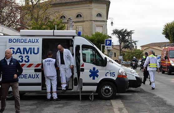 Fransada avtobus qəzası