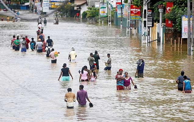Şri-Lankada daşqınlarda 146 nəfər ölüb