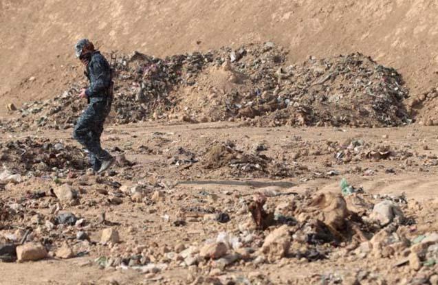 Mosulda kütləvi məzalıq tapılıb