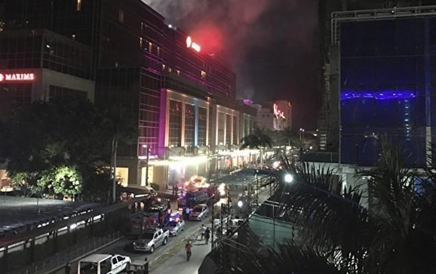 Filippində oteldə baş verən yanğında 36 nəfər ölüb