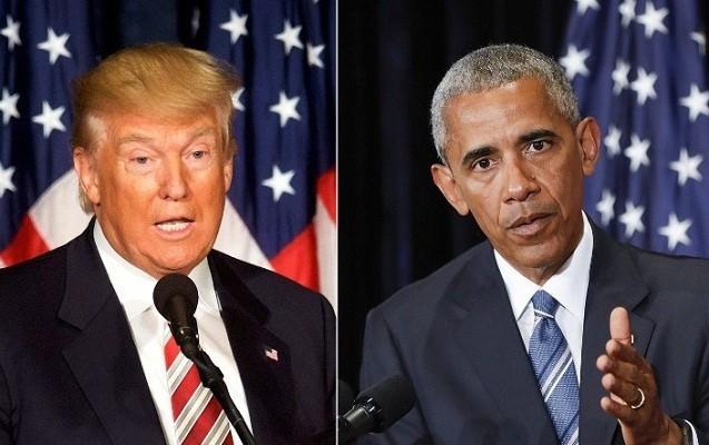 Obamadan Trampa etiraz