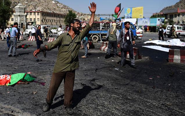 Mosulda terrorçu özünü partladıb