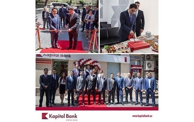 Kapital Bank yeni Nərimanov Kart Mərkəzini istifadəyə verdi