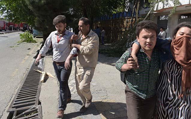 Əfqanıstanda terrorda ölənlərin sayı 150 oldu