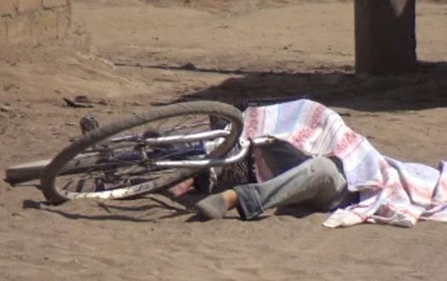 14 yaşlı velosipedçi yük maşınının altında qalıb öldü