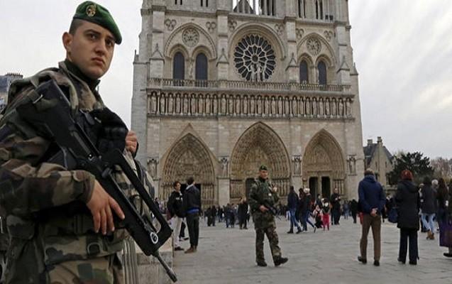 Parisdə terror həyəcanı