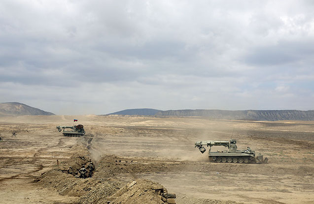 Azərbaycan ordusunun təlimindən